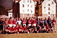 1974 erste Mannschaft in Algund
