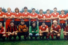 1981 erste Mannschaft Aufstieg BuA-Klasse